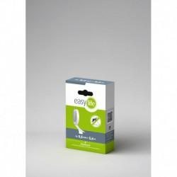 zip suchý samolepící, náhradní role, 9,5mmx5,6m, transparentní