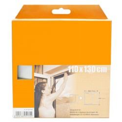 Síť okenní, 110x130cm, bílá