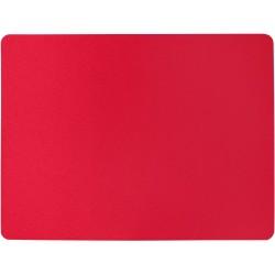 94-F5-8920 Podložka pod židli PCM hladká, s motivy - červená, 90x120cm, tvar O
