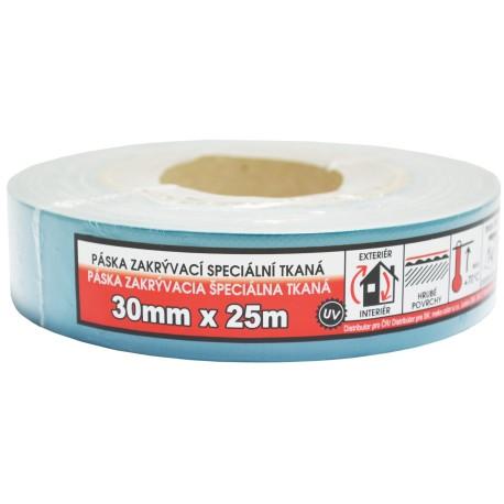 páska zakrývaí speciální tkaná 30mm/25m
